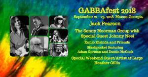 GABBAfest 2018 Georgia Allman Brother's Band Assoc. Annual Benefit Auction