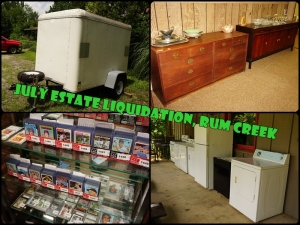 JULY ESTATE LIQUIDATION AUCTION, RUM CREEK