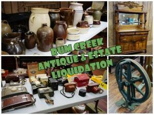 JANUARY ESTATE & COLLECTIBLES LIQUIDATION, RUM CREEK
