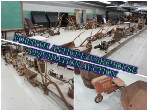 FORSYTH ANTIQUE WAREHOUSE LIQUIDATION
