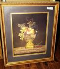 FRAMED, MATTED, AND SIGNED FLORAL STILL LIFE OIL ON CANVAS, LYDIA B. MCCRARY 1974
