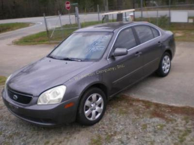 2006 Kia Optima Sedan LX I4, 2.4L Motor Noise, Sold With No Battery!!! *VIN # KNAGE123765021885 *Odometer- 178000 *TAVT Tax $ 141.75 *Color- GRAY