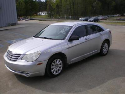 2007 Chrysler Sebring Sedan Base I4, 2.4L *VIN # 1C3LC46K47N633591 *Odometer- 199139 *TAVT Tax $ 173.25 *Color- SILVER