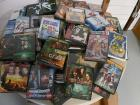 LOT OF 60 DVD MOVIES & VIDEO GAMES