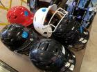 5 Batting Helmets