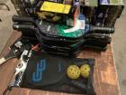 Group Lot Pickle-ball Rackets and balls