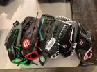 Group Lot Wilson Gloves - See Pics for details