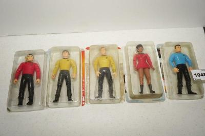 VINTAGE STAR TREK ACTION FIGURES IN ORIGINAL PLASTIC