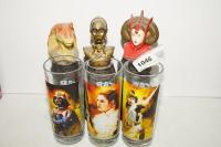 STAR WARS COLLECTIBLE GLASSES AND BATH ACCESSORIES