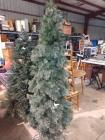 APPROX 6 FT TALL ARTIFICAL CHRISTMAS TREE WITH LIGHTS