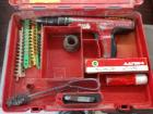 LOT OF 2 HILTI POWER NAILERS WITH CASES