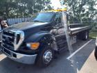 2005 Ford F-650 Rollback with Jerr Dan Bed