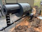 Pistol Shaped Smoker Trailer