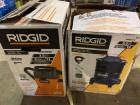 2 Rigid Shop Vacs