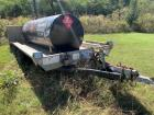 Fuel Tank and approx. 8 x 15 Aluminum Trailer with Ramp