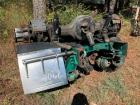 SCRAP PILE INCLUDES 4 AXLE UNITS AND OLD COMPRESSOR