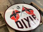 47 INCH DIXIE METAL SIGN . GREAT CONDITION