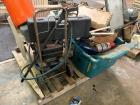 MISC LOT TO INCLUDE BOOTS,PRESSURE WASHER,CHAIR,COOLER