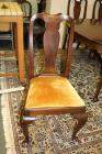 VINTAGE MAHOGANY HINKLE AND HARRIS DINING ROOM CHAIR