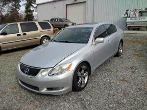 2006 Lexus GS 300 Sedan Base V6, 3.0L