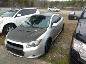 2005 Scion tC Hatchback Base I4, 2.4L
