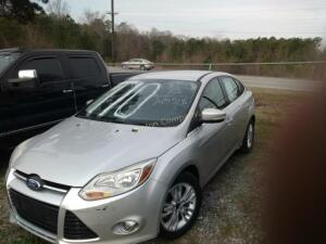 2012 Ford Focus Sedan SEL I4, 2.0L