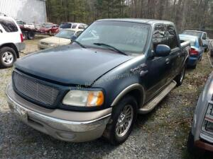 2002 Ford F-150 Pickup King Ranch V8, 5.4L