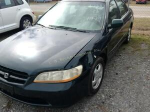 1998 Honda Accord Sedan EX I4, 2.3L