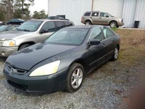 2005 Honda Accord Sedan EX w/Leather I4, 2.4L