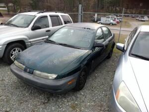 1998 Saturn S-Series Sedan SL1 I4, 1.9L