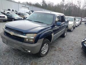 2002 Chevrolet Avalanche Pickup 1500 V8, 5.3L