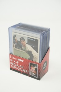 1957 AND 1958 TOPPS BASEBALL CARDS IN HARD PLASTIC COVERS