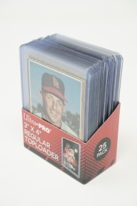 1962 TOPPS BASEBALL CARDS IN HARD PLASTIC COVERS