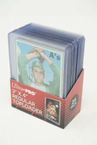 1970 TOPPS BASEBALL CARDS IN HARD PLASTIC COVERS