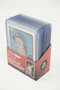 1983 DONRUSS BASEBALL CARDS IN HARD PLASTIC COVERS