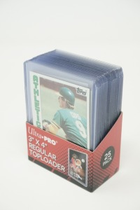 1984 TOPPS BASEBALL CARDS IN HARD PLASTIC COVERS