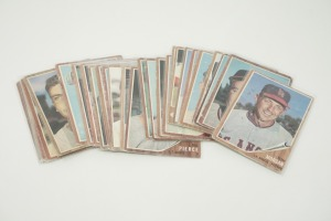 1962 TOPPS BASEBALL CARDS IN SOFT PLASTIC COVERS