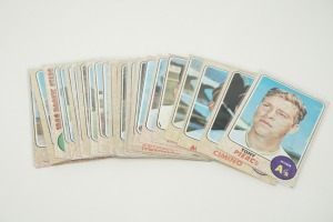 1968 TOPPS BASEBALL CARDS IN SOFT PLASTIC COVERS