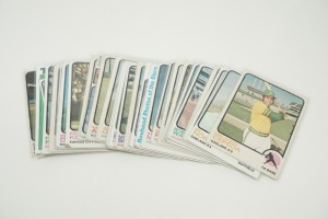 1973 TOPPS BASEBALL CARDS IN SOFT PLASTIC COVERS