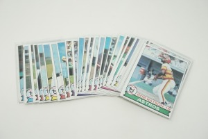 1979 TOPPS BASEBALL CARDS IN SOFT PLASTIC COVERS
