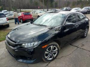 2016 Honda Civic Sedan LX I4, 2.0L