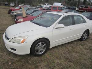 2006 Honda Accord Sedan Hybrid w/Navi V6, 3.0L