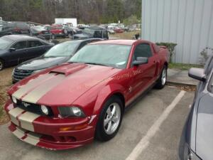 2008 Ford Mustang Coupe V6 Deluxe V6, 4.0L