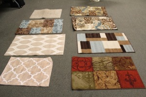 LOT OF SMALL AREA RUGS