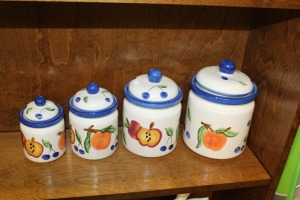 HAUSENWARE CANISTER SET
