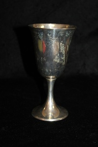 VINTAGE GORHAM STERLING SILVER GOBLET WEIGHING APPROX. 180 GRAMS