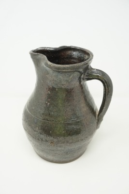 ANTIQUE CRAWFORD POTTERY PITCHER
