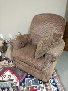 VERY SOFT AND COMFORTABLE RECLINER, NOT A ROCKER, THIS CHAIR IS AMAZING TO SIT IN.