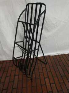 39 IN METAL MAGAZINE RACK