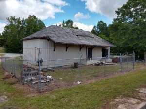 SUPERINTENDENT BELIEVES THIS BUILDING TO BE ONE OF THE OLDEST IN BLECKLEY COUNTY AND WAS A TRAIN DEPOT AT ONE TIME, BUYER HAS RIGHTS TO TAKE ANY AND ALL ITEMS WITHIN THE GATED AREA INCLUDING TAKING DOWN THE BUILDING, HAS LOTS OF NICE WOOD TO OFFER, HAS BE
